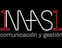 1mas1 comunicación & gestión logo