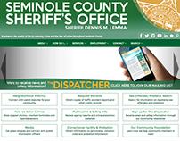 Web Design for Seminole County Sheriff's Office