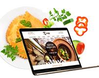 Сайт ресторан «Салхино»