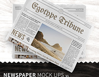 Newspaper Mock ups