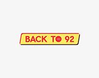 Brand Identity - Back To 92