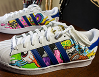 Adidas Superstar Custom Art