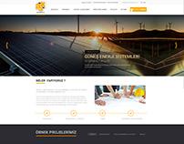 ASK Mühendislik Web Sitesi Tasarımı