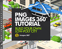 Build your own low-poly city