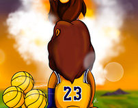 Lebron Passes MJ Lion King Edition