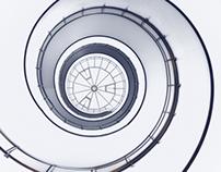 Spiral staircases of Copenhagen