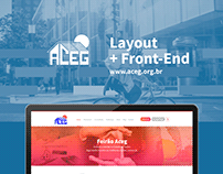 Aceg | Layout & Front-End