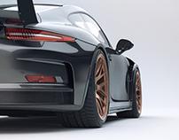 Porsche GT3RS (2016) Studio shoots
