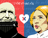 Trump X Hillary: I Love to Hate You | The Series