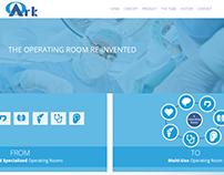 Κατασκευή ιστοσελίδας www.oark.dk