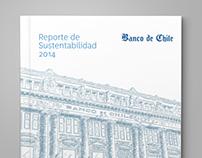 Reporte de Sustentabilidad Banco de Chile, 2014