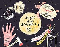 poster/flyer Night of the Storyteller
