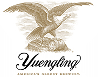 Yuengling Brewery Logomark Illustrated by Steven Noble