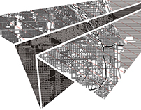 Chicago and Kaunas Illustrations