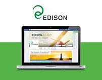 Edison facebook tab