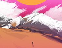 Mountain Paint