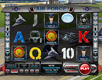 "Slot machine - ""Airforce"""