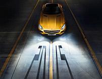 """Mercedes Benz """"Passenger Car Calendar 2015"""""""