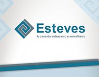 Identidade visual lojas Esteves