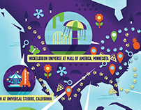 Nickelodeon Experiences Global Map