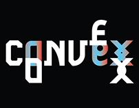 convex display typeface