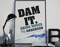 Dam Poster Design