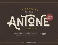 Antone Family | Free Font