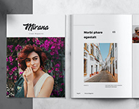 MIRANA - Magazine Template