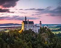 Schloss Neuschwanstein in Gemany