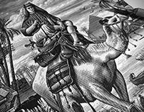 The Camel Rider Illustration by Steven Noble
