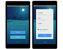 Xamarin Android Card Style UI Design