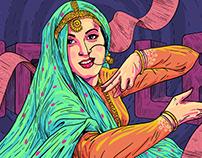 Google Doodle - Madhubala