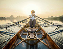 Rowing In Nile