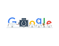 google doodle - x-ray day