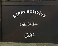 2019 Etre Cecile Christmas Wall