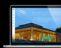 Campo Lago Website