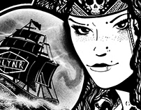 """""""Cassandra"""" - Dollynoire illustration project"""