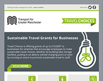 Travel Choices HTML email templates