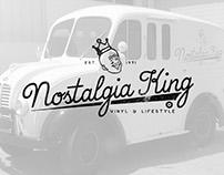 Nostalgia King Identity & Branding