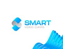 Logo - Smart Vidros Curvos