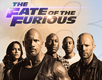 Fate of the furious poster Design