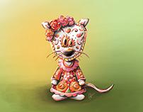 Dia de los muertos Mouse
