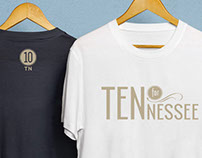 Ten for Tennessee Logo