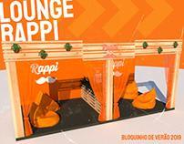 Lounge Rappi - Bloquinho de Verão 2019
