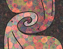 Yin Yang Proboscis Drawings