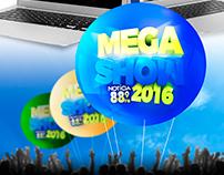 Mega Show da Notícia FM 2016