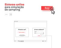 Online Samplinig Simulator