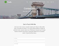 Contact - Traveler WordPress Theme by Visualmodo