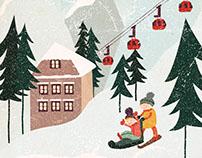 BOSK Winterweek 2018 - Poster & Banner