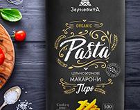 Organic pasta packaging design